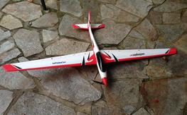 Adagio 280 BNF Plane w/ AS3X E-Flite EFL6550 RC Airplane Electric Sailplane