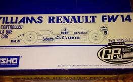 rare Kyosho Williams Renault FW14 1/8 GP-10