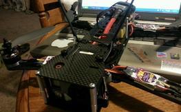 (repost)Hoverthings Flip360 Carbon Fiber frame