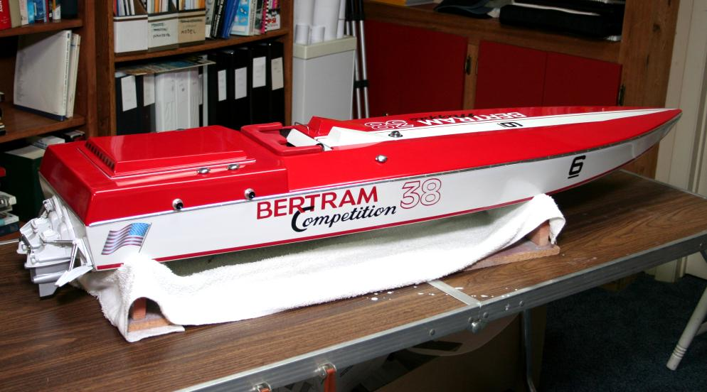 Bertram Competition 38