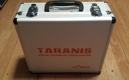 Taranis X9D with Case and 3 RX's with 2500mah Lipo