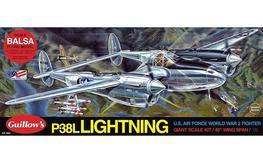 Guillow's Lockheed P-38 Lighting