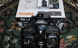 Futaba T8J with 2 recivers