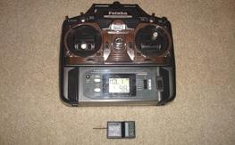 Black Friday Deal - Futaba 6EXAP Transmitter with AnyLink Module and Tactic TR624 Rec