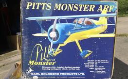 The Carl Goldberg Pitts Model 12 Monster 1.20 ARF(NIB)!!!