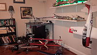 Name: hangar1.jpg Views: 229 Size: 148.5 KB Description: a few more bolts in the wall and i'll have room for more ...