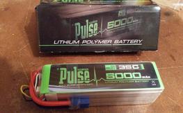 Pulse 5000mAh 35c 6s battery