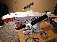 Name: IMG_1947.jpg Views: 21 Size: 110.2 KB Description: Repairs under way. I used goop to attach the nacelle.