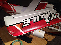 Name: IMG_1953.jpg Views: 14 Size: 114.7 KB Description: Wing taped up.