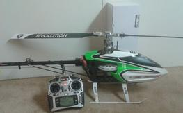 Blade 550X Heli and DX7S Radio RTF