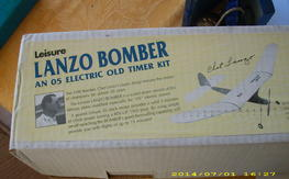 Lanzo Bomber 70.5 in. old timer electric