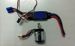Align RCM-BL450M Motor and Align RCE-BL35P ESC