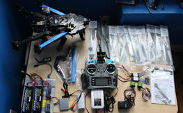 3D Robotics X8 RTF With extras
