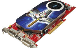 his Radeon x1950 pro gap card look!!