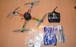 SK450 ARTF - Naza Lite, NTM motors, Turnigy 6X Trx, spare 450 parts