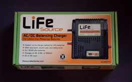 Hobbico LiFe Source AC/DC Balancing Charger - $30 Shipped Lower 48