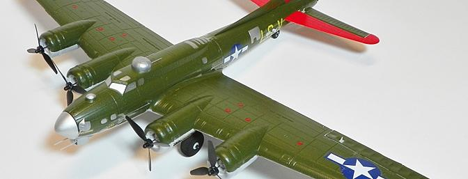 E-flite UMX�� B-17G Flying Fortress BNF with AS3X Technology