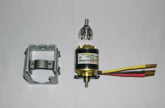 Rimfire motor (42-60-480kv) and Brushless motor mount (medium)