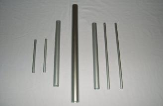 Wing tubes for inboard and outboard wing panels