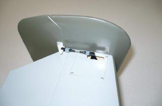 Rudder servos mounted in the horizontal stab