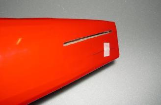 Fuselage stab slot