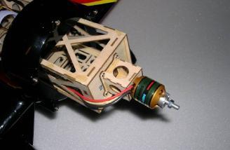 Long motor mount