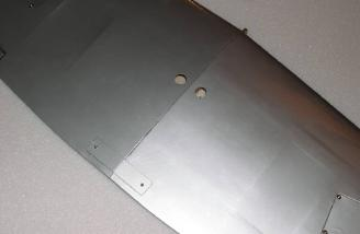 Wing bolt plate mounted.