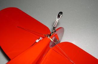 Tail wheel brace