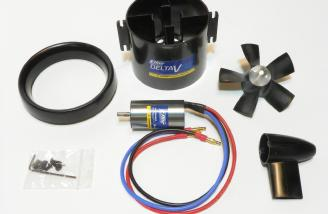 Fan components and brushless motor.