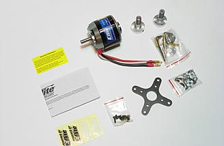 E-flite Power 160 motor and accessories.