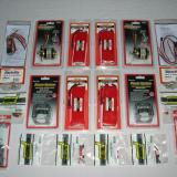 (2)Electrifly Rimfire brushless outrunner motors (42-60-480kv), (2)Electrifly brushless motor mounts (medium), (2)Electrifly Power Series 3s 3200 mah lipo batteries, (2) Electrifly Power Series 2s 3200 mah lipo batteries, (2) Castle Creations Phoenix 80 brushless motor controllers, Deans Ultra power connectors, Great Planes hook and loop attachment strips.