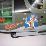 The decals make the B-25 come alive.