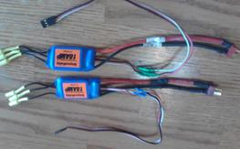 Brushless motors and esc's