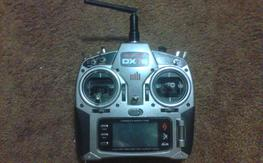 DX7S transmitter and charger
