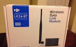 DJI 2.4ghz Bluetooth iPad/PC Ground Station Datalink for Phantom, etc...