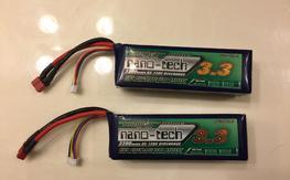 Nano tech 4s 3300mah 65-130C