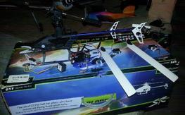 Blade SR PARTS. Blades, motor, ESC, frame, tail motor and more