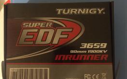 Turnigy motor 90mm EDF never used!