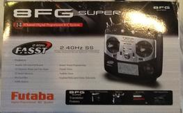 Futaba 8FG super 14 channel with four receivers