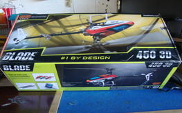 BLADE 450 3D BNF WITH MANY EXTRAS (REDUCED)---$180 Shipped CON-US only!!