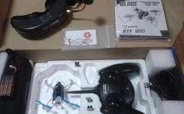 Fpv Nano Qx Rtf with Insane motors and goggles