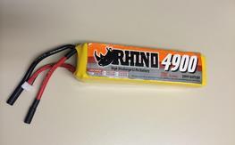 Rhino 4900mAh 5S1P 20C Lipoly Pack