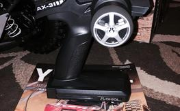 Axial AX-3 Radio and Receiver. Brand New