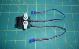 (2) Airtronics 94761Z Micro Digital Hi Speed Hi Torq Servos