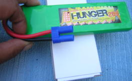 NIB Hunger 2650MAH 2S 25C MAX 50C 7.4V NANO TECH LIPO x 2