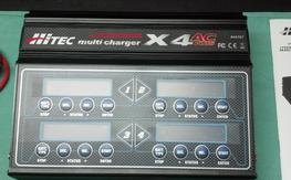 Hitec x 4 AC/DC Charger