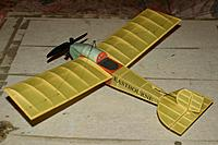"Name: esc 339.jpg Views: 91 Size: 153.5 KB Description: 18"" span, 30 grams flying weight."