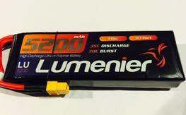 Lumenier 3s 5200mah Battery