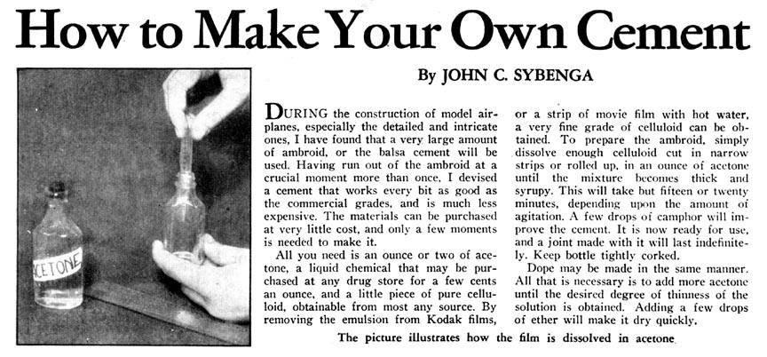 Attachment browser make own cement 1937 model airplane for Make your own cement