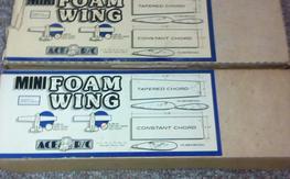 Two Original Ace Foam Wings NIB